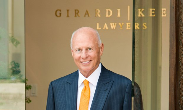 Tom Girardi of Girardi Keese. Courtesy photo