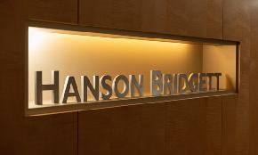 Hanson Bridgett Found Double Digit PEP Growth Despite RPL Decline