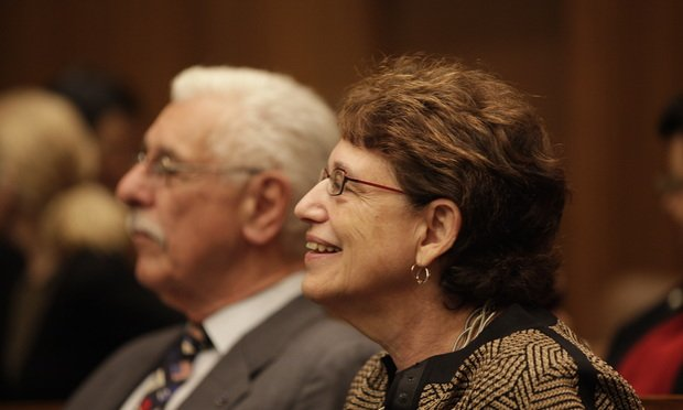 Marsha Berzon, Ninth Circuit Court of Appeals..Photo by Jason Doiy.1-27-11.054-2011