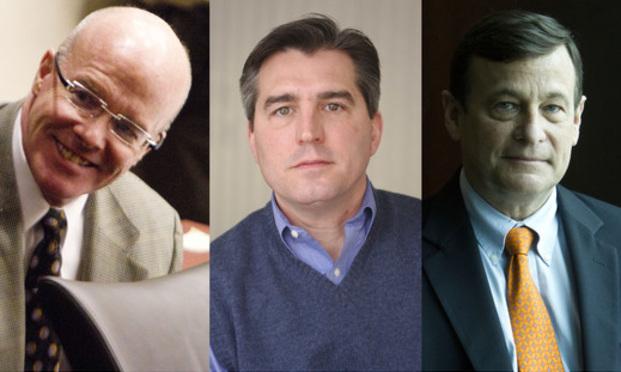 Paul Jannuzzo, John Renzulli, and Robert Core.