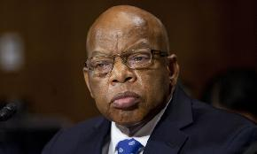 Divided Leaders Stand United Honoring John Lewis
