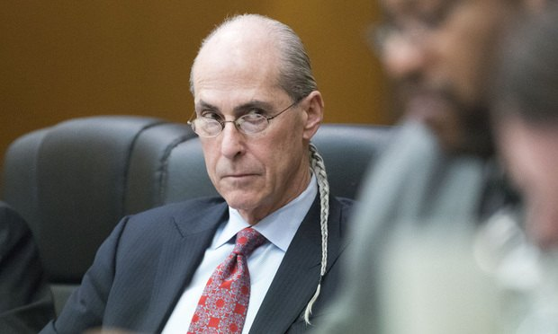 Defense attorney Bruce Harvey