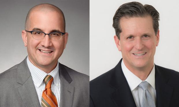 Bejamin Ebbink (left) and Rick Grimaldi