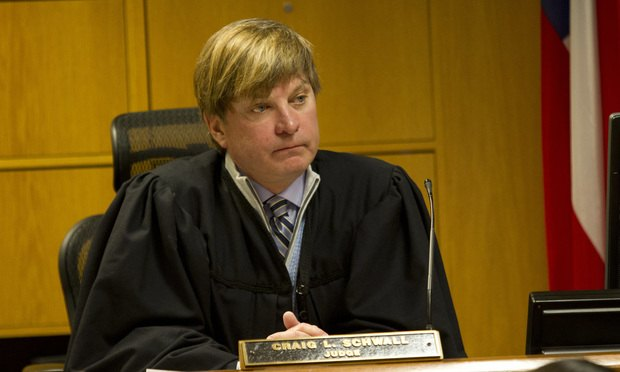 Fulton County Superior Court, Judge Craig Schwall. Photo: John Disney/ALM.