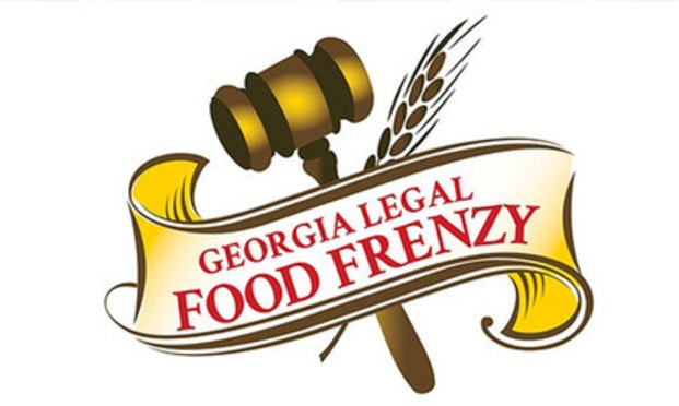 Georgia Legal Food Frenzy logo