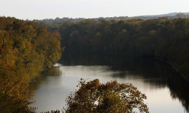 The Chatahoochee River in South Georgia, below the Walter F. George Lake. (Photo: John Disney/ALM)
