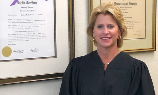 Tifton Judicial Circuit Judge Melanie Cross/courtesy photo