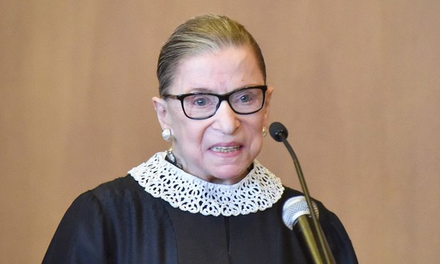U.S. Supreme Court Justice Ruth Bader Ginsburg (Photo: David Handschuh/ALM)