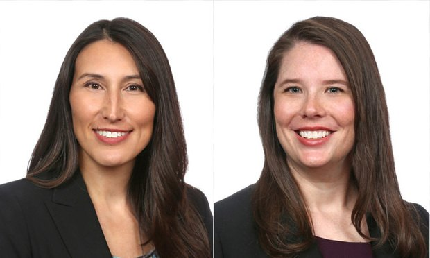 Shari Klevens and Alanna Clair, Dentons.