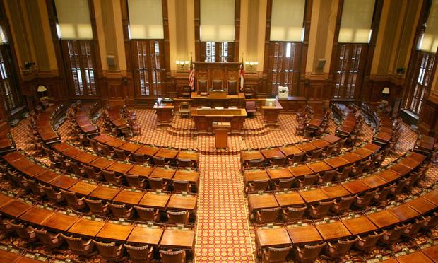 State of Georgia House of Representatives, House Chamber. (Courtesy photo)