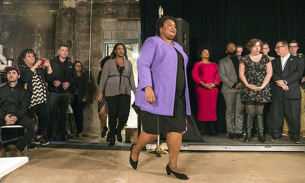 Stacey Abrams (Alyssa Pointer/Atlanta Journal-Constitution via AP)
