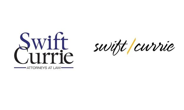 Swift Currie's old and new logo.