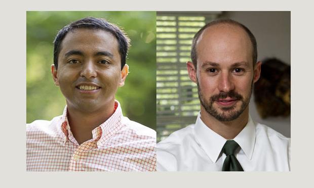 Sameer Joshi (left) and Jeb Butler