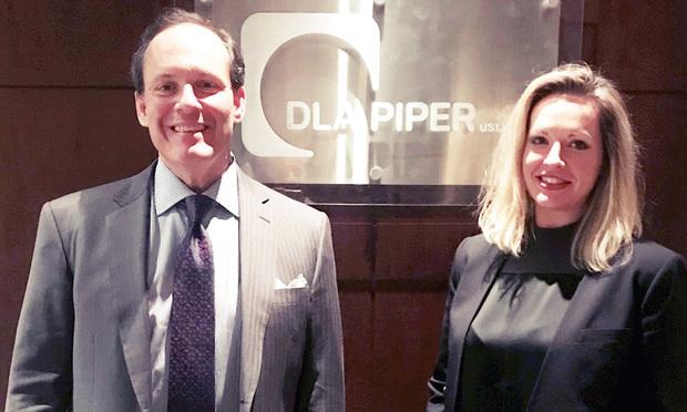 Terry Weiss (left) and Stefanie Wayco, DLA Piper, Atlanta. (Courtesy photo)