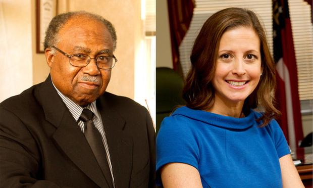 Justice Robert Benham (left) and Judge Sara Doyle (Photos: John Disney/ALM)