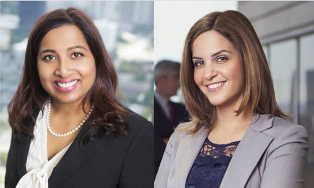 Anita Bala (left) and Rachel Berlin Benjamin of Buckley Beal.