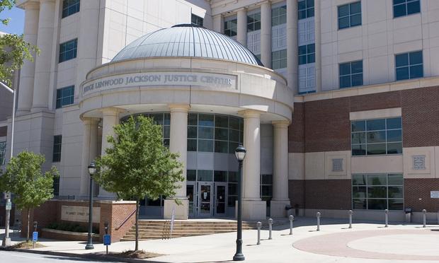 A photo of the Atlanta Municipal Court building.