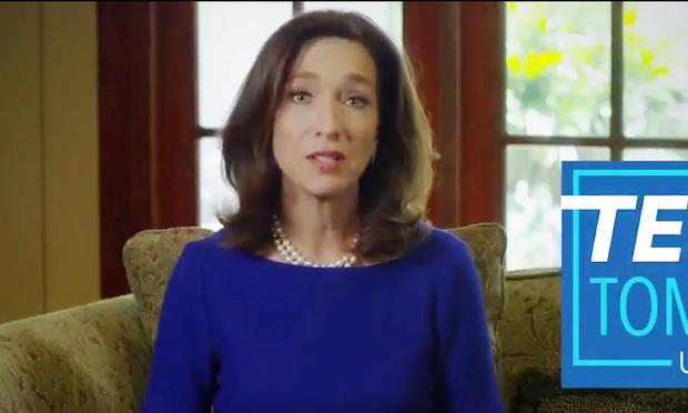 Teresa Tomlinson, candidate for U.S. Senate in Georgia. She is the former mayor of Columbus. (Photo: Twitter screenshot)