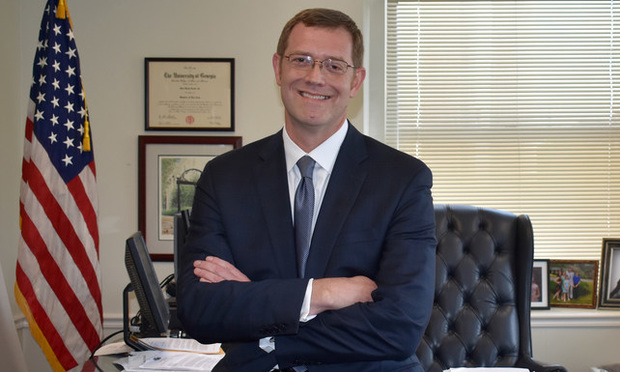 David Cooke, Bibb County district attorney, Macon Georgia/courtesy photo