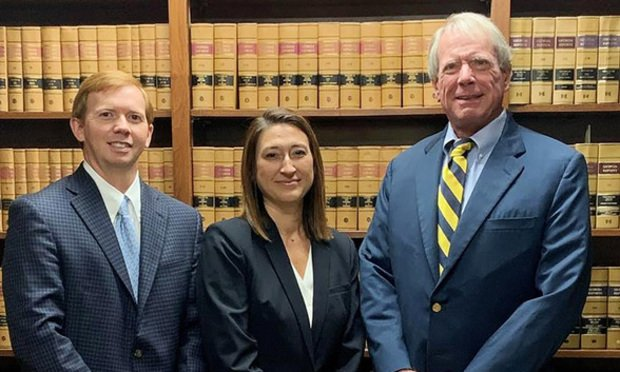 Shaun O'Hara (from left), Miranda Brash and Charlie Gower of Charles Gower P.C. (Courtesy photo)