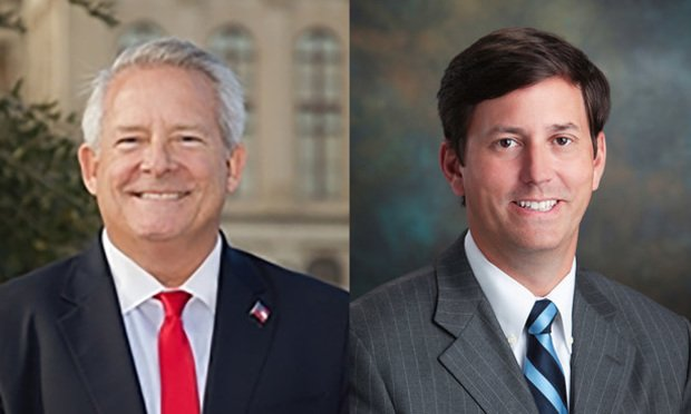 Bill Clark, political director, and Dan Snipes, president, Georgia Trial Lawyers Association. (Courtesy photos)