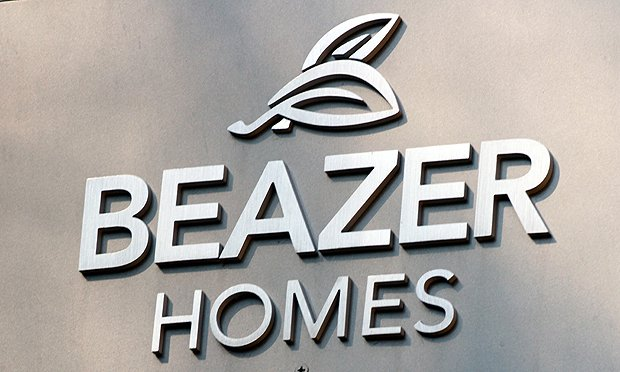 Beazer Homes signage (Courtesy photo)