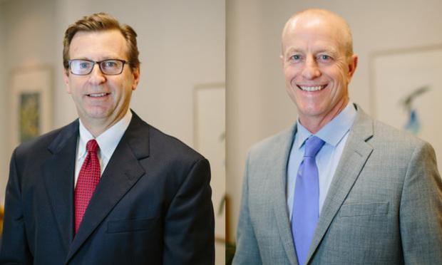 John Steel (left) and John Moss of Steel & Moss. (Courtesy photos)