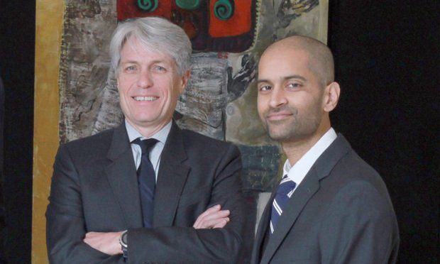 Andy Rogers and Naveen Ramachandrappa.