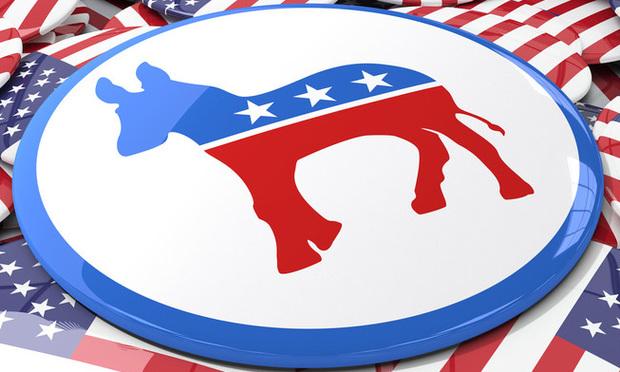 Democrat donkey symbol