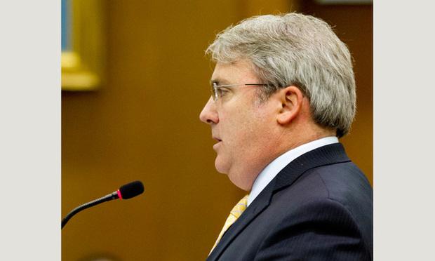 Judge Michael Brown, U.S. District Court Northern District of Georgia. (Photo: John Disney/ALM)