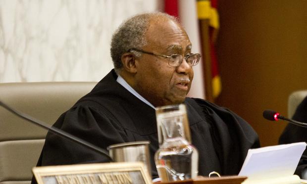 Justice Robert Benham, Supreme Court of Georgia. (Photo: John Disney/ALM)