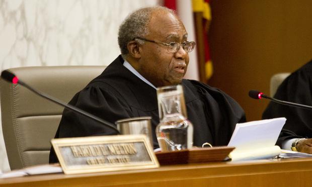 Georgia Supreme Court Justice Robert Benham/photo by John Disney/ALM