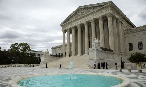 U.S. Supreme Court building,Washington, D.C (Photo: Diego M. Radzinschi/ALM)