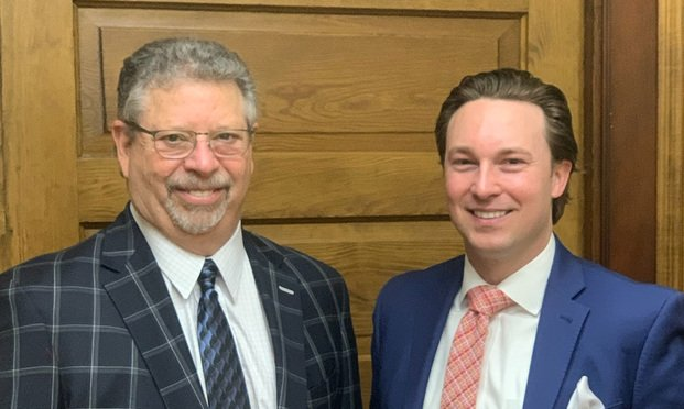 Jeffrey Lasky (left) and Daniel Justus of Lasky Cooper Law. (Courtesy photo)