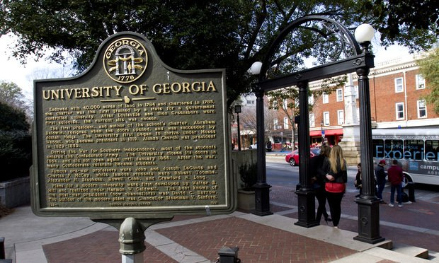University of Georgia, entrance to the North Campus. (Photo: John Disney/ALM)