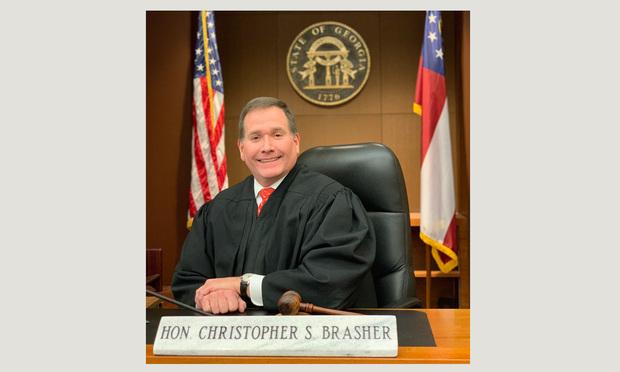 Chief Judge Chrostopher Brasher, Fulton County Superior Court. (Courtesy photo)