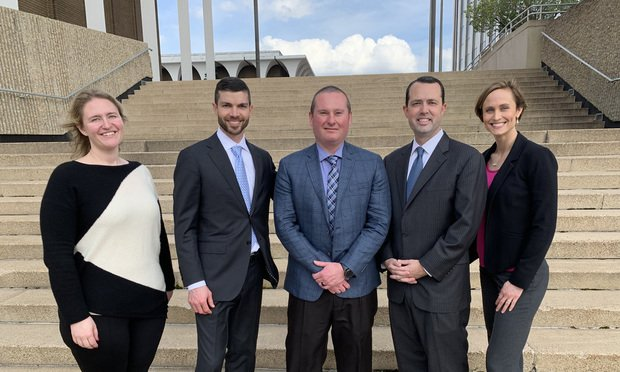 Ashley Heinen, Chase Swanson, Michael Wells, Drew Ashby, and Maegan Knight, The Ashby Firm. (Courtesy photo)