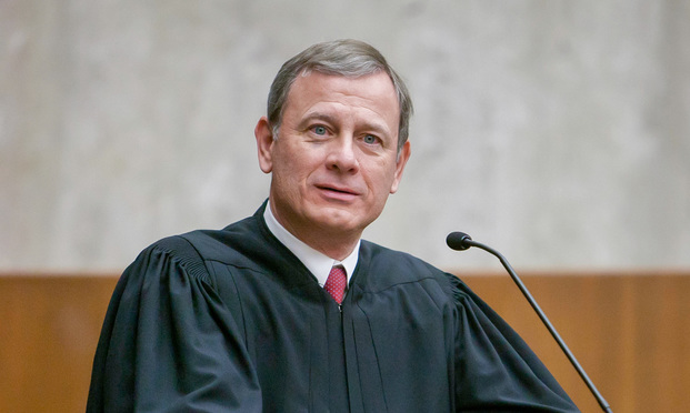 John Roberts Jr., Chief Justice of the U.S. Supreme Court.