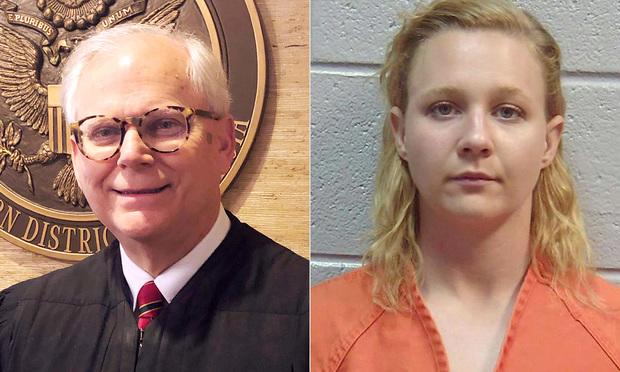 Judge Randal Hall and Reality Winner.
