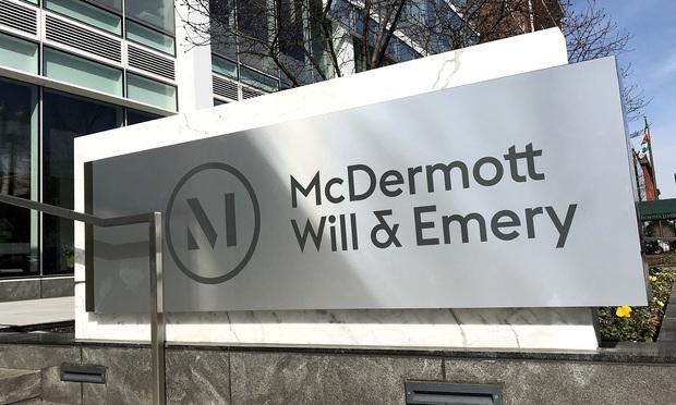 McDermott Will & Emery offices in Washington, D.C. (Photo: Diego M. Radzinschi/ALM)