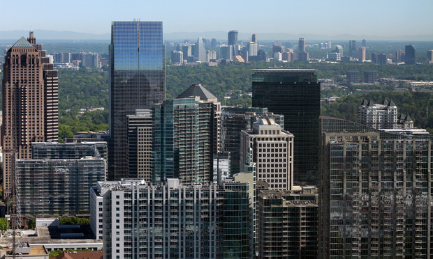 Atlanta's Midtown and Buckhead skylines. (Photo: John Disney/ALM)