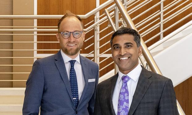 Brandon Smith (left) and Mathew Titus of new plaintiffs firm, Titus Smith. (Courtesy photo)