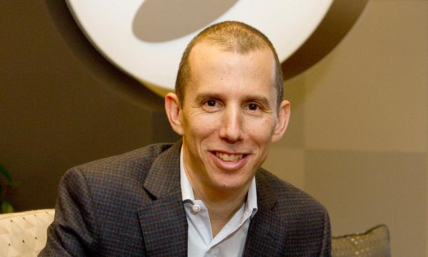 David Green, GC, Global Payments. (Photo: John Disney/ALM)