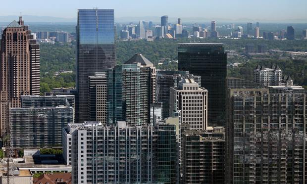 Westlake Legal Group Atlanta-Skyline-Article-202009161304 Big Firms' Office Use Is Still Voluntary—With Few Takers