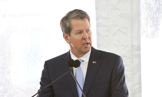 Brian Kemp, Governor of the State of Georgia.