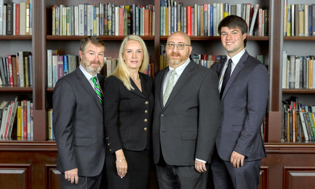 Matt Cook, Kate Cook, Robert Childres and Nathan Nicholson, Cook law Group.