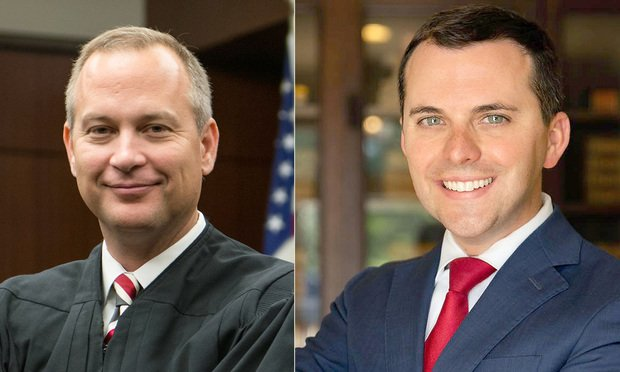 Judge Rob Leonard (left) and David Willingham. (Courtesy photos)