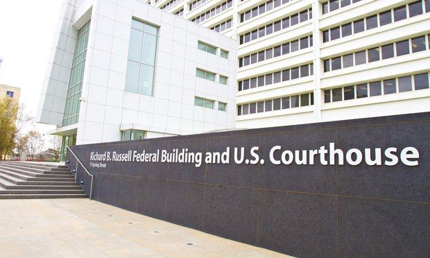 U.S. District Court for the Northern District of Georgia at the Richard B. Russell Federal Building in Atlanta, Georgia. Photo: John Disney/ALM