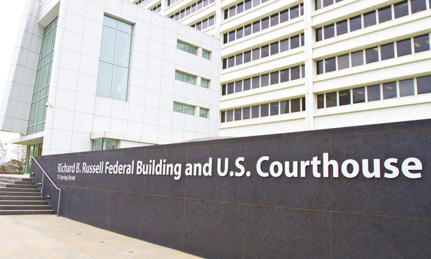 U.S. District Court for the Northern District of Georgia at the Richard B. Russell Federal Building in Atlanta. (Photo: John Disney/ALM)