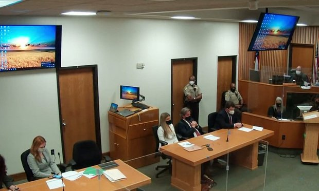 Chatham County Superior Court Mock Jury Trial March 2021. Courtesy photo